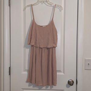 H&M layered mini dress